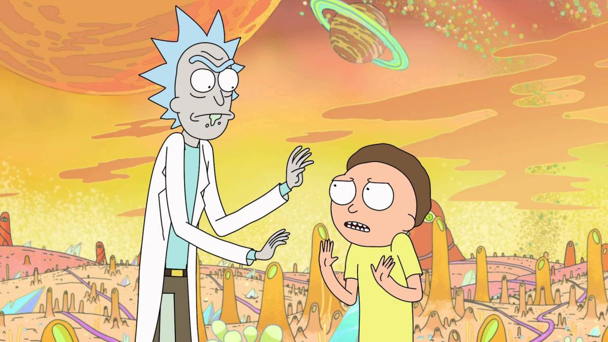 Watch TV SPEC Reading of RICK & MORTY, by Michael Kellner