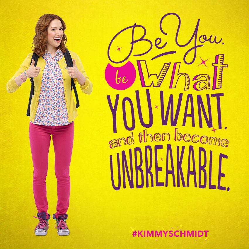 TV SPEC Reading  UNBREAKABLE KIMMY SCHMIDT by Jen Turriff