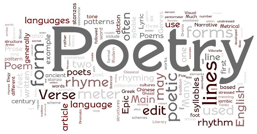 SOCIETY Poetry Contest – Deadline August 31st. Submit a poem that's about SOCIETY and get it made into a movie.