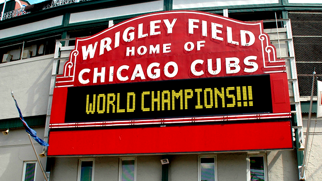 CUBS Win World Series – 2016 Champs!